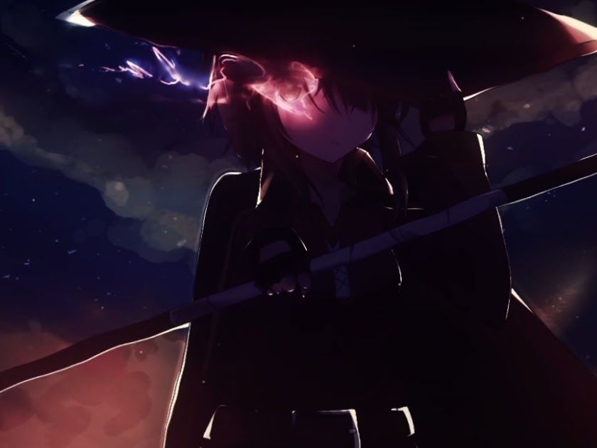 Wallpaper Engine Anime Megumin Di 2020 Seni