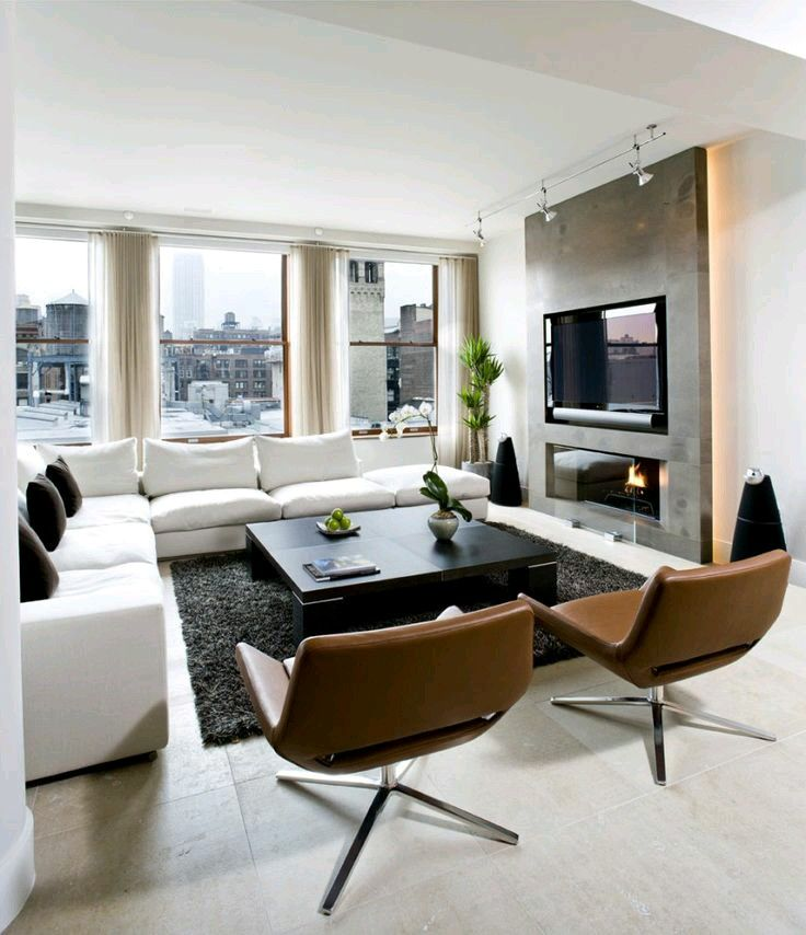 like layout for our living room of low l sectional with two chairs rh pinterest com