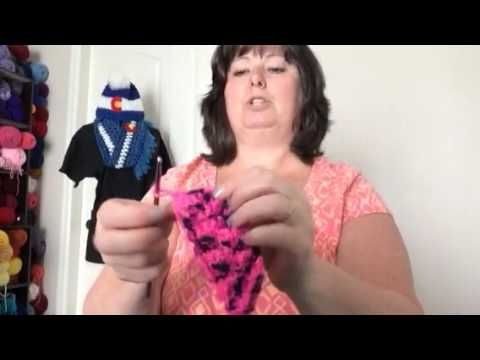 How to Crochet a Dog Neck Tie