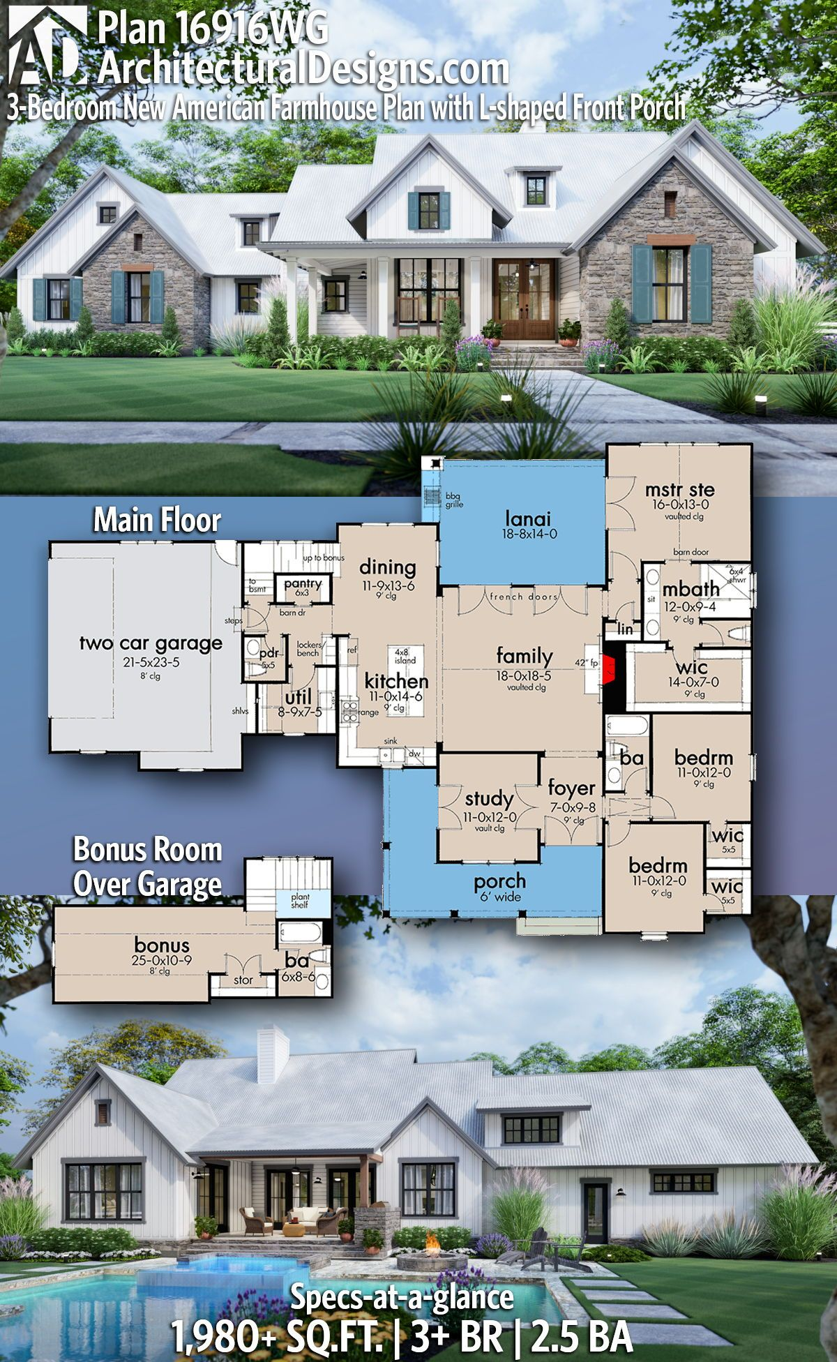 Photo of Architectural Designs – Selling quality house plans for over 40 years