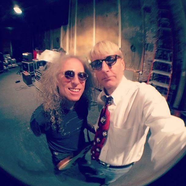 Waddy Wachtel and T Bone Burnett, Sept 2014