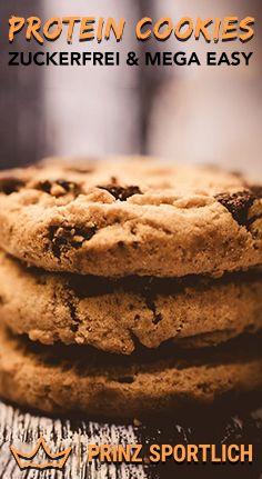 Protein Cookies: 4 gesunde & eiweißreiche Rezept-Varianten #peanutrecipes