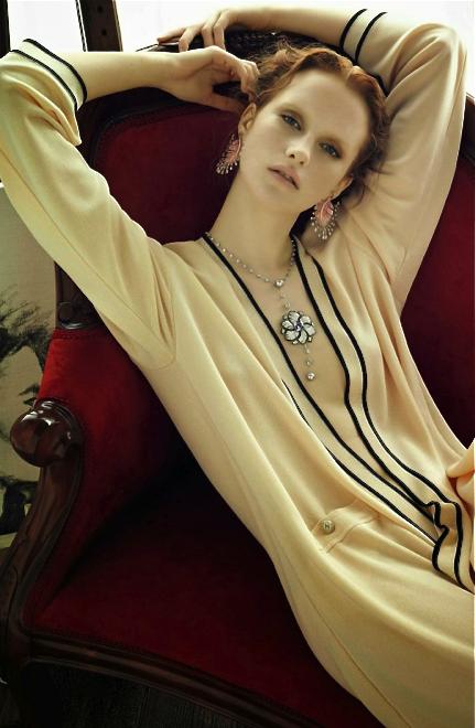 Magda Jasek by Henrique Gendre for Vogue Japan Gioiello, December 2013