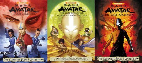 Avatar The Last Airbender The Complete Books 1 2 3 Dvd Collection