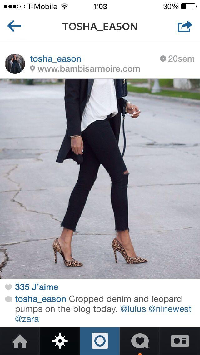 Ideas on How to wear my leopard booties