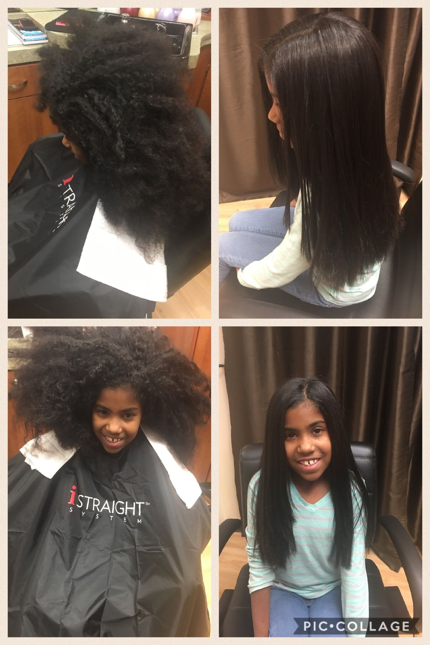 Before And After Japanese Hair Straightening Beautiful