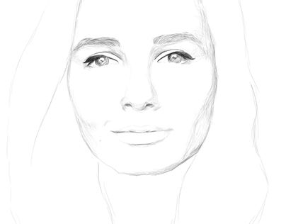 """Check out new work on my @Behance portfolio: """"Self portrait"""" http://be.net/gallery/47647995/Self-portrait"""