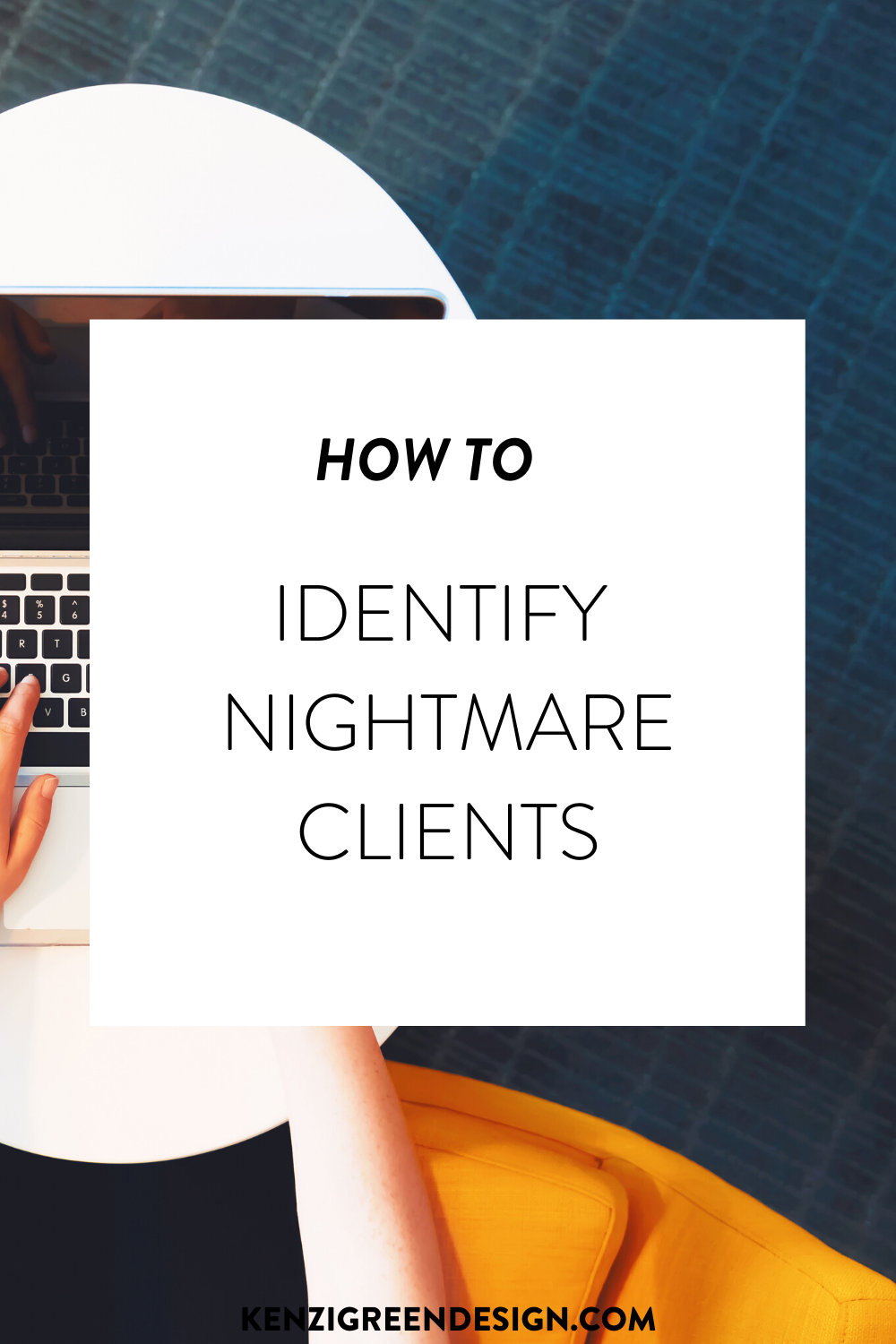 The Early Signs Of A Nightmare Client Kenzi Green Design Brand Designer Custom Website Design In 2020 Literary Writing Web Business Social Media Infographic