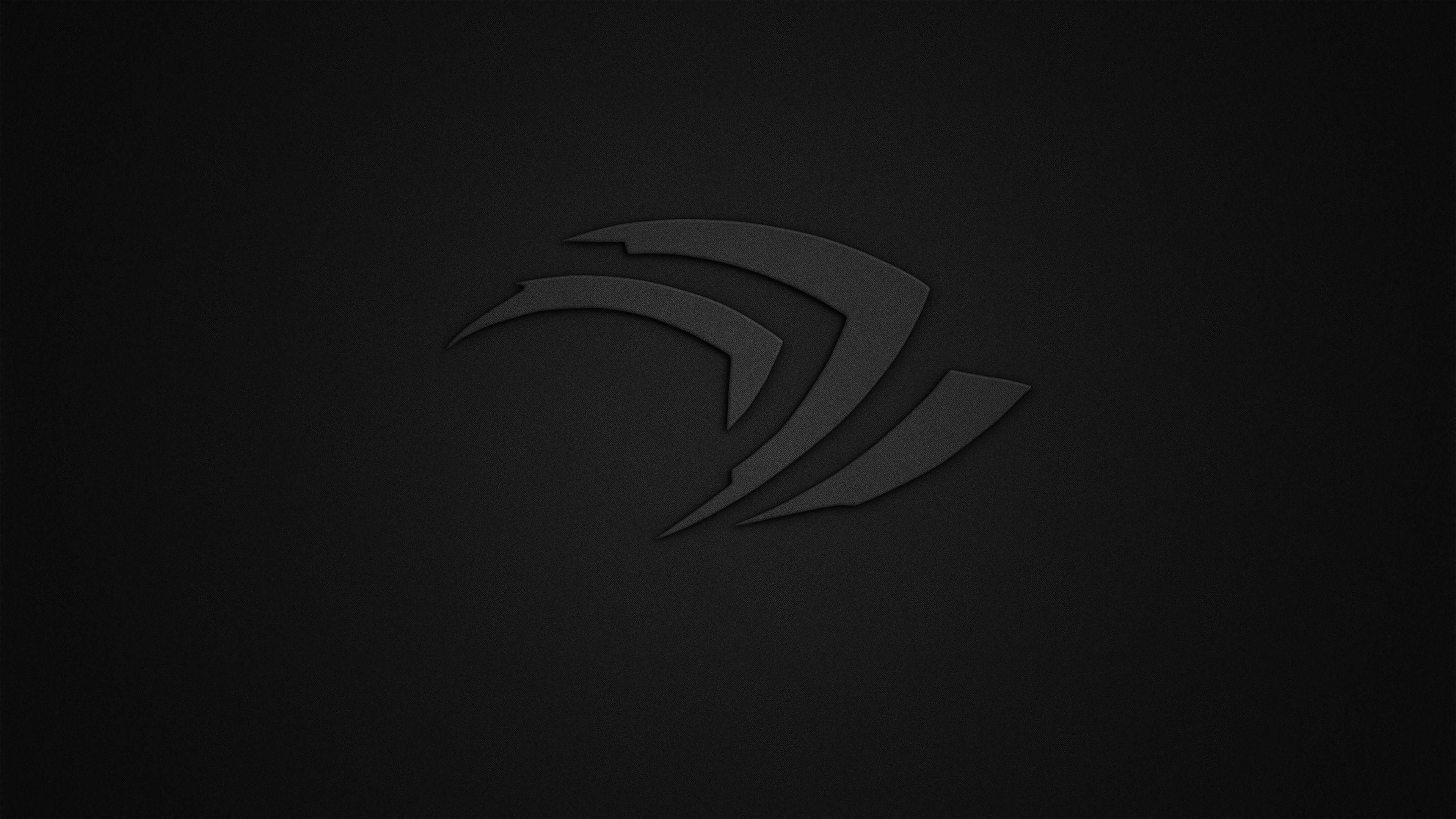Res 3840x2160 Nvidia 4k Wallpaper Picture Logo Nvidia Monochrome