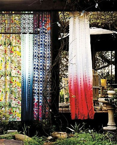 Attractive Wavering Ombre Curtains, On @HGTV Design Happens By Jeanine Hays. Images