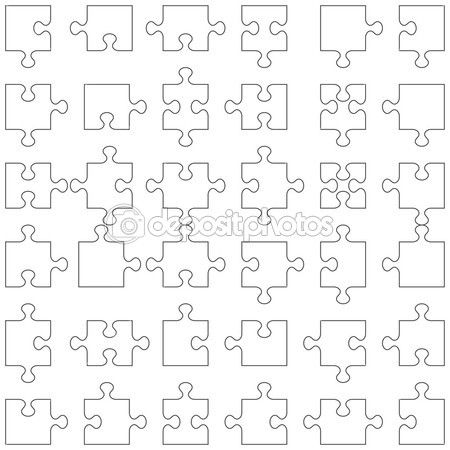 Like puzzle pieces from the clay Crafts Pinterest Puzzle - puzzle piece template