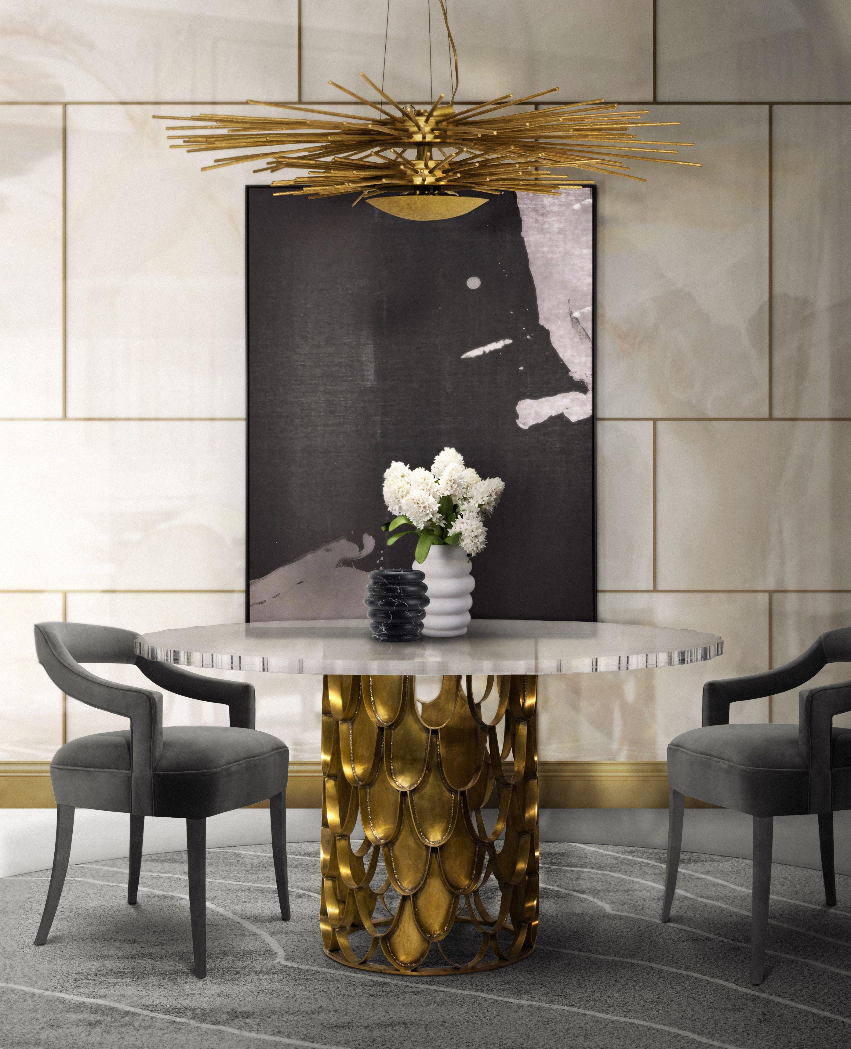 Erstaunliche Messing Tische Für Das Perfekte Wohndesign | Samt Polsterei |  Messing Möbel | BRABBU Inspirationen
