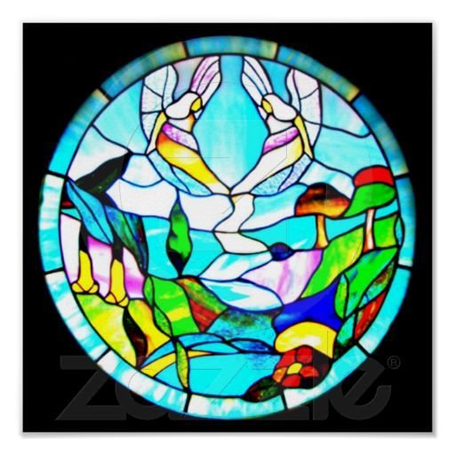 Poster-Stained Glass-Tiffany 18