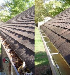 In Houston And Surrounding Suburb Homeowners Can Expect Exceptional Service From Ned Stevens Gutter Clean Cleaning Gutters How To Install Gutters Gutter Repair