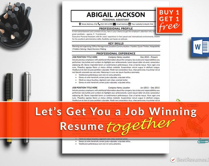 traditional resume template clean resume resume template word