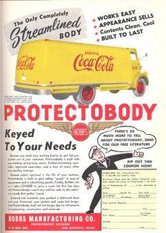 Trade ad in Coca-Cola Bottler magazine