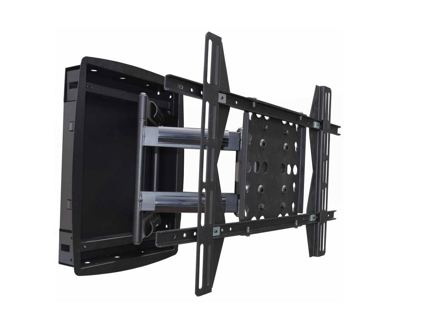 Monoprice Recessed Full Motion Articulating Tv Wall Mount Bracket For Tvs 42in To 63in Max Weight 200lbs Vesa Patterns Up To 800x500 In 2020 Wall Mounted Tv Tv Wall Mount Bracket