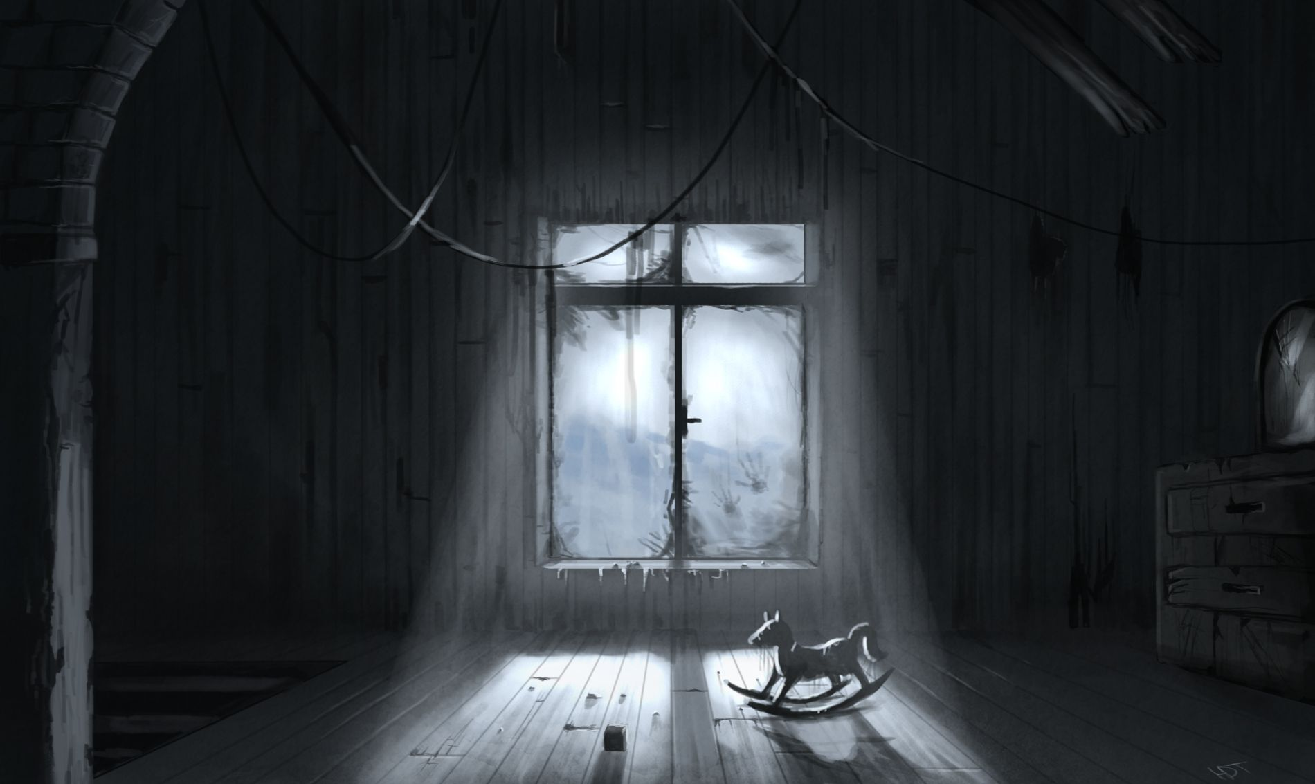 Dark Hauntings Bing Images A Haunting We Will Go  Pinterest - Dark creepy basement