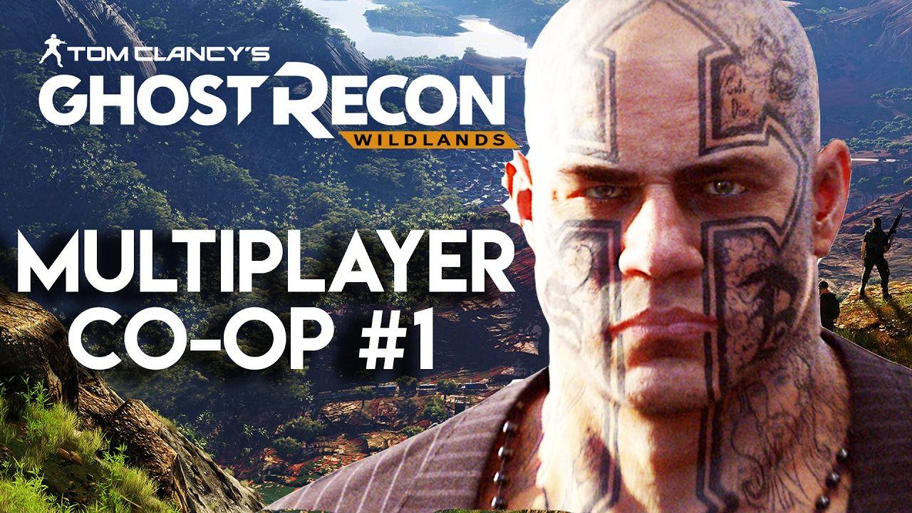 Ghost Recon Wildlands Gameplay Multiplayer CoOp 1 (PS4