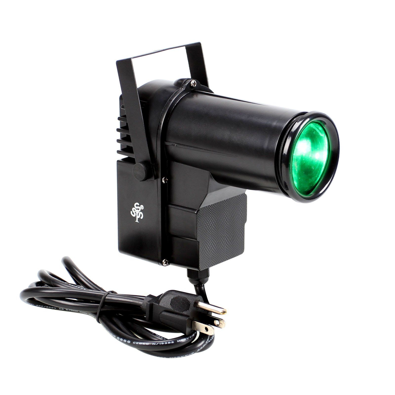 Amazon.com: TSSS XL99 10-Watt RGBW LED Spotlight with Mount Pinspot ...