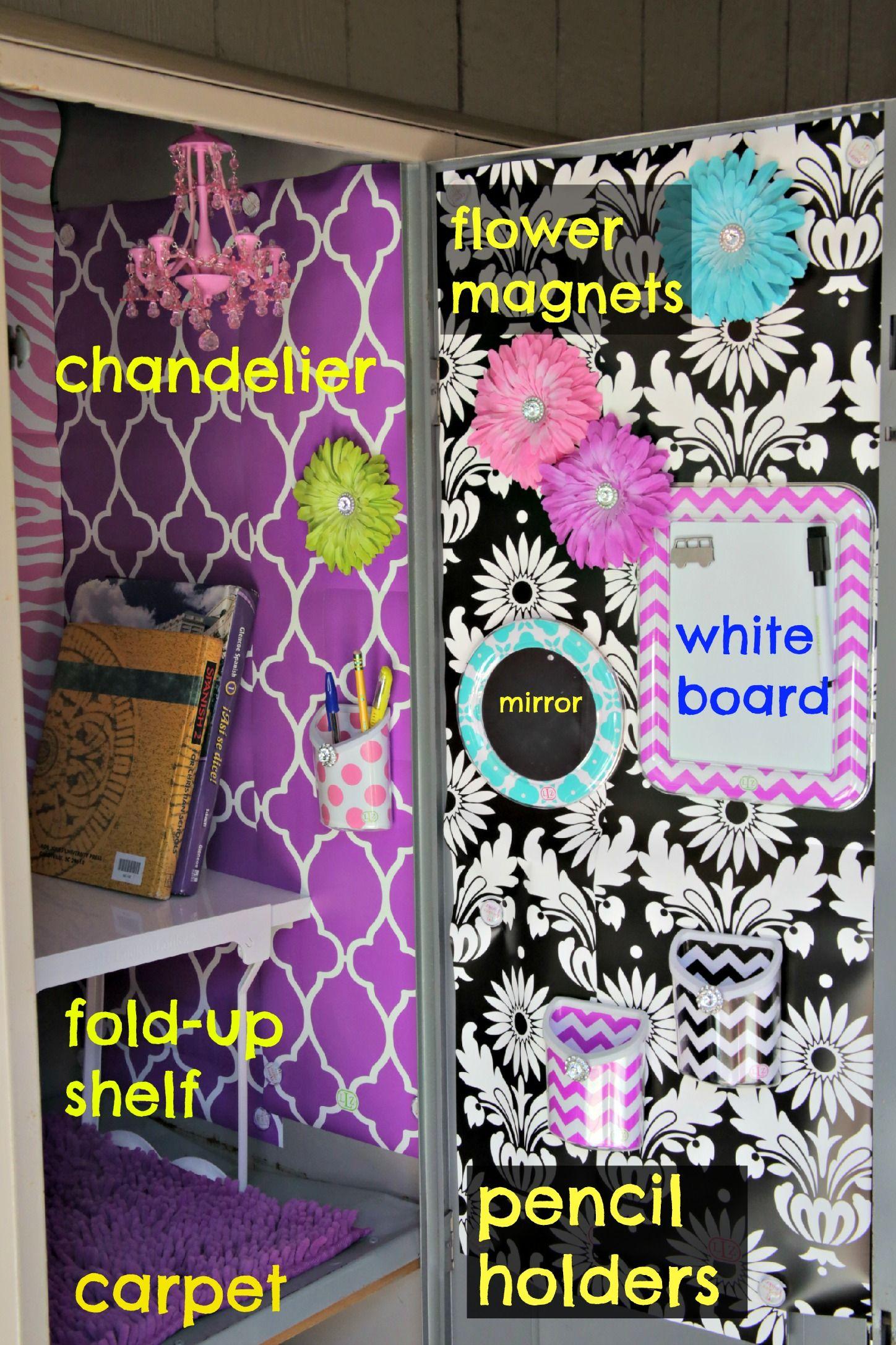 Locker Designs Ideas a locker Find This Pin And More On Locker Decorating Ideas