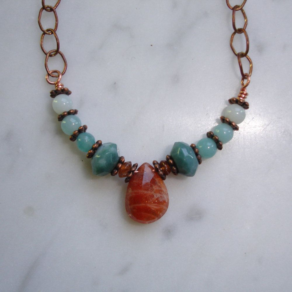 with juniper necklace necklaces sunstone and img shop silver opal spoon creations