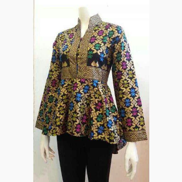 Referensi Model Batik Kerja: Model Baju Batik Kerja-1