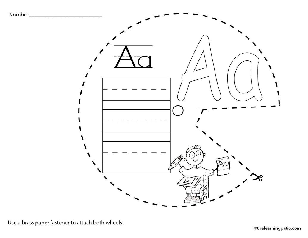 A Spanish Abc Wheel Over 100 Pages Great For Vocabulary
