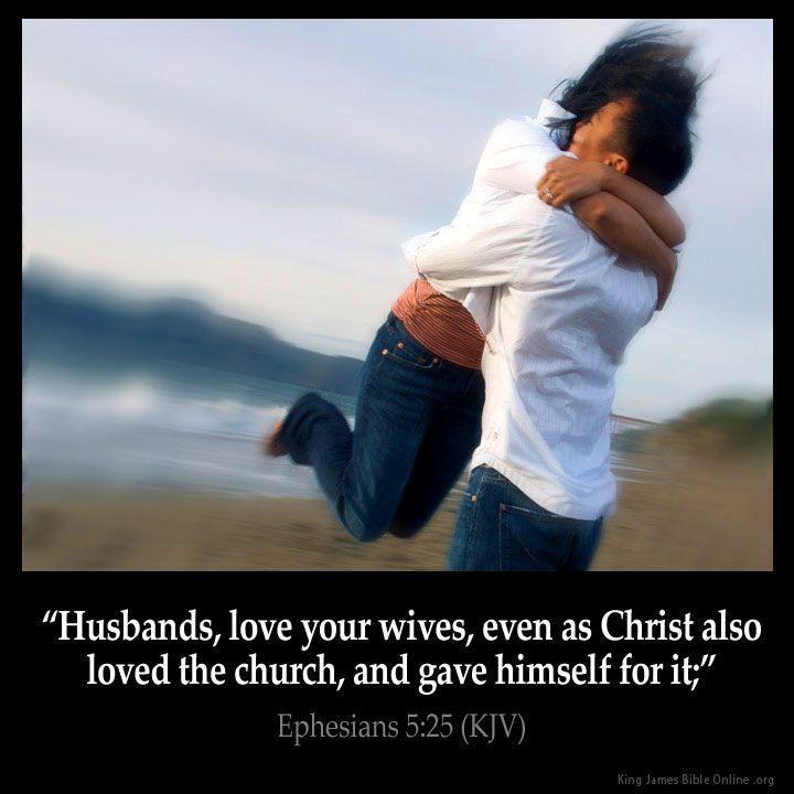 ephesians 5 25 bible king james version husband love