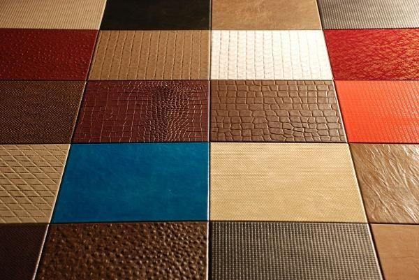Leather tile flooring gurus floor for Leather flooring