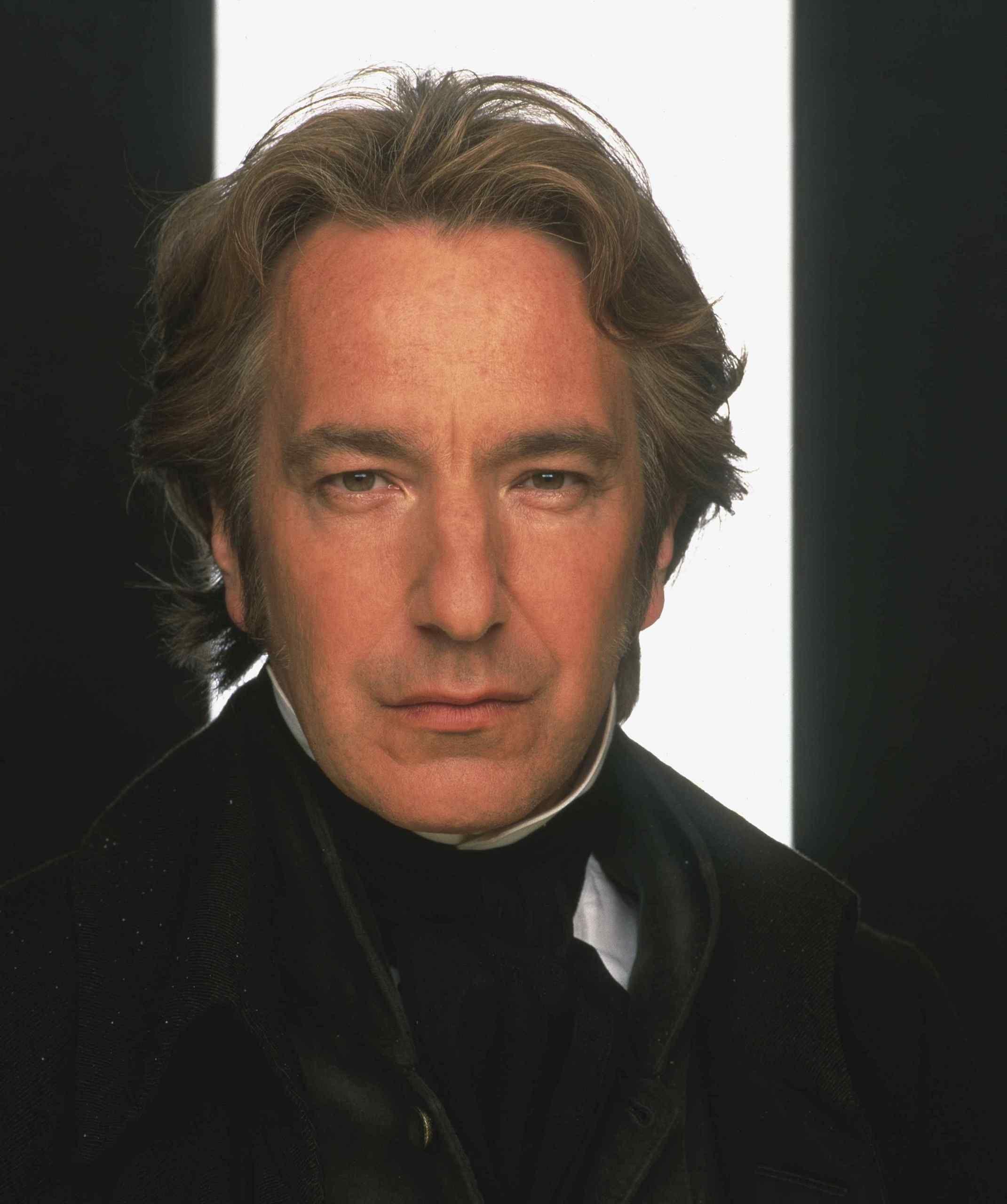 Colonel Brandon. (Alan Rickman).  From Jane Austen's Sense and Sensibility, c. 1995 film version.