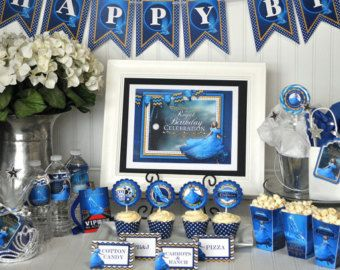 2015 cinderella party ideas | 2015 Party Package, Cinderella Movie Party Package, Cinderella Party ...