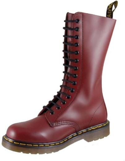 Dr Martens - 1914z 14 Hole Boots - Cherry Red