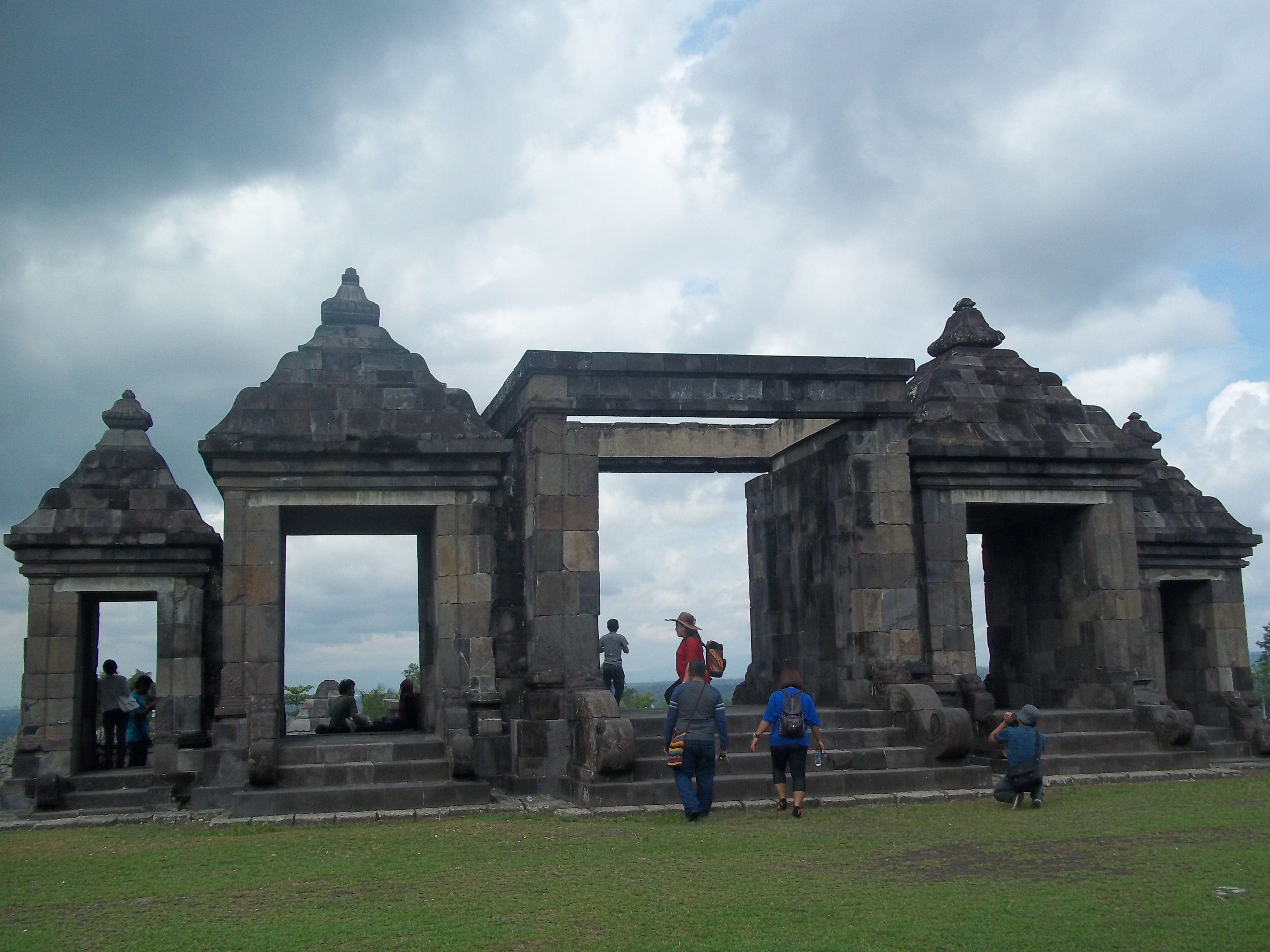Ratu Boko is an archaeological site known to modern