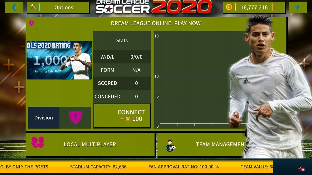 Dream League Soccer 2020 New Amazing Edition For Android