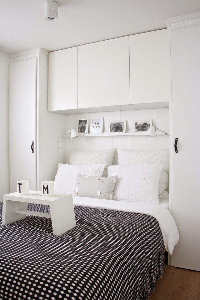 Cabinets Above Bed For Clothes Storage Attractive Modern Bedroom Furniture  Ideas For Minimalist Bedroom Interior