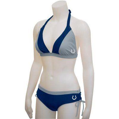 G-III Indianapolis Colts Women's Halter Bikini