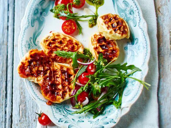 Photo of Pizza Waffles Recipe | DELICIOUS