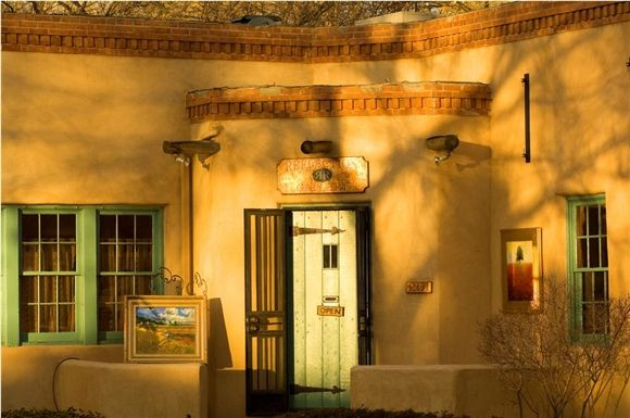 art galleries on canyon road - Google Search
