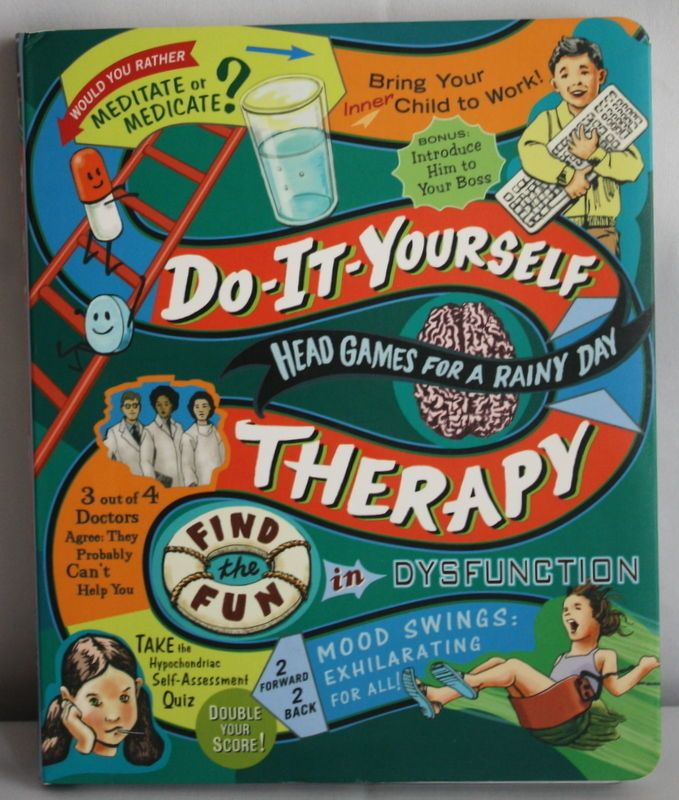 Do it yourself therapy head games for a rainy day gag gift books do it yourself therapy head games for a rainy day gag gift books solutioingenieria Images
