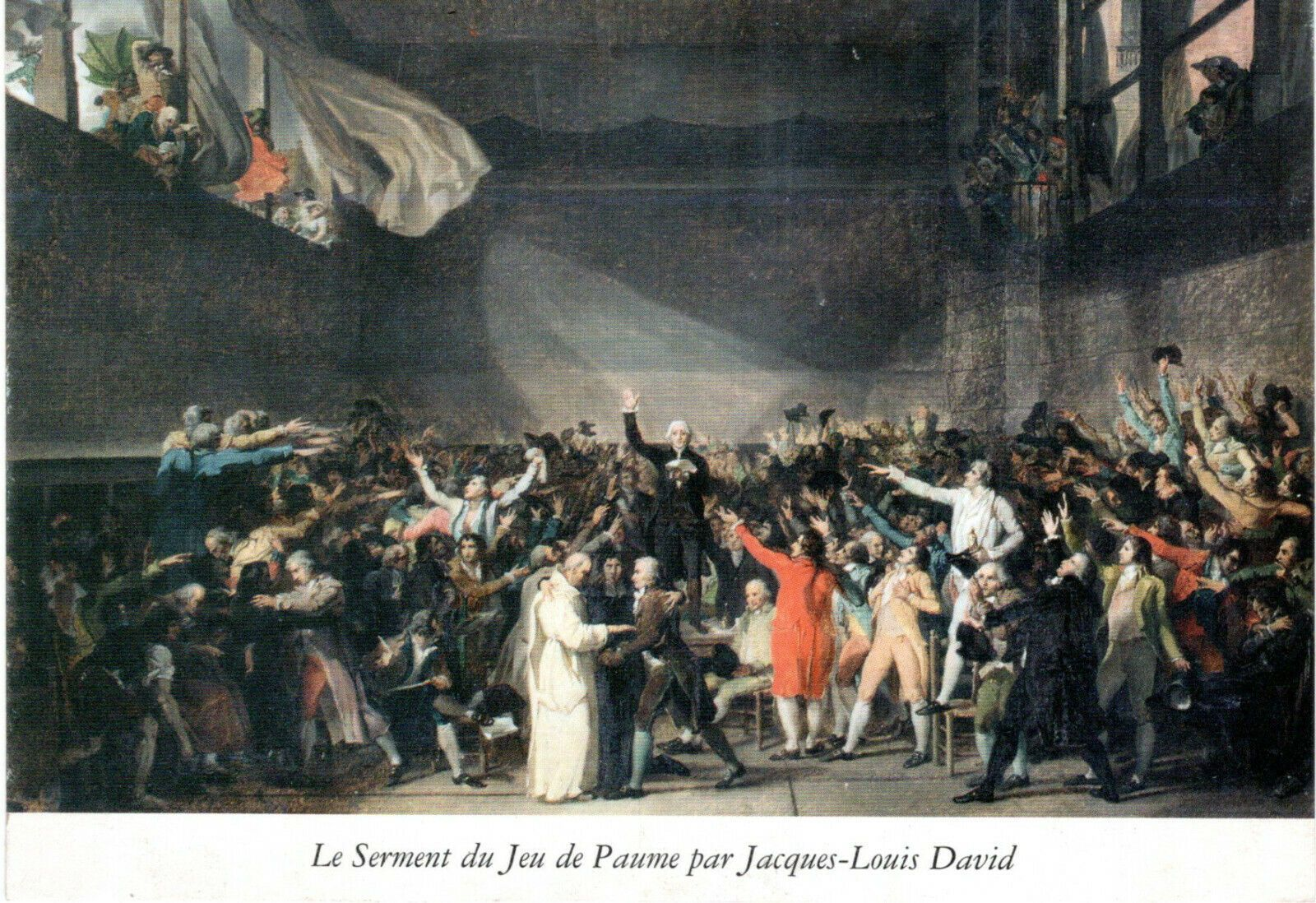 Reproduction du Tableau LE SERMENT DU JEU DE PAUME de Jean Louis DAVID | Jeu  de paume, Le serment, Jean louis david