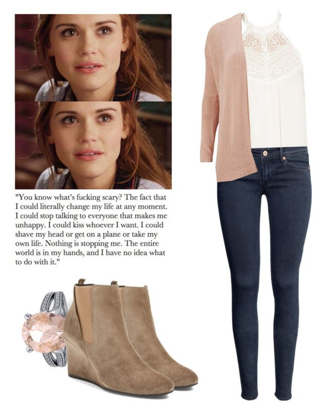 Lydia Martin - tw / teen wolf by shadyannon on Polyvore featuring polyvore fashion style ONLY Forever 21 H&M Lanvin clothing