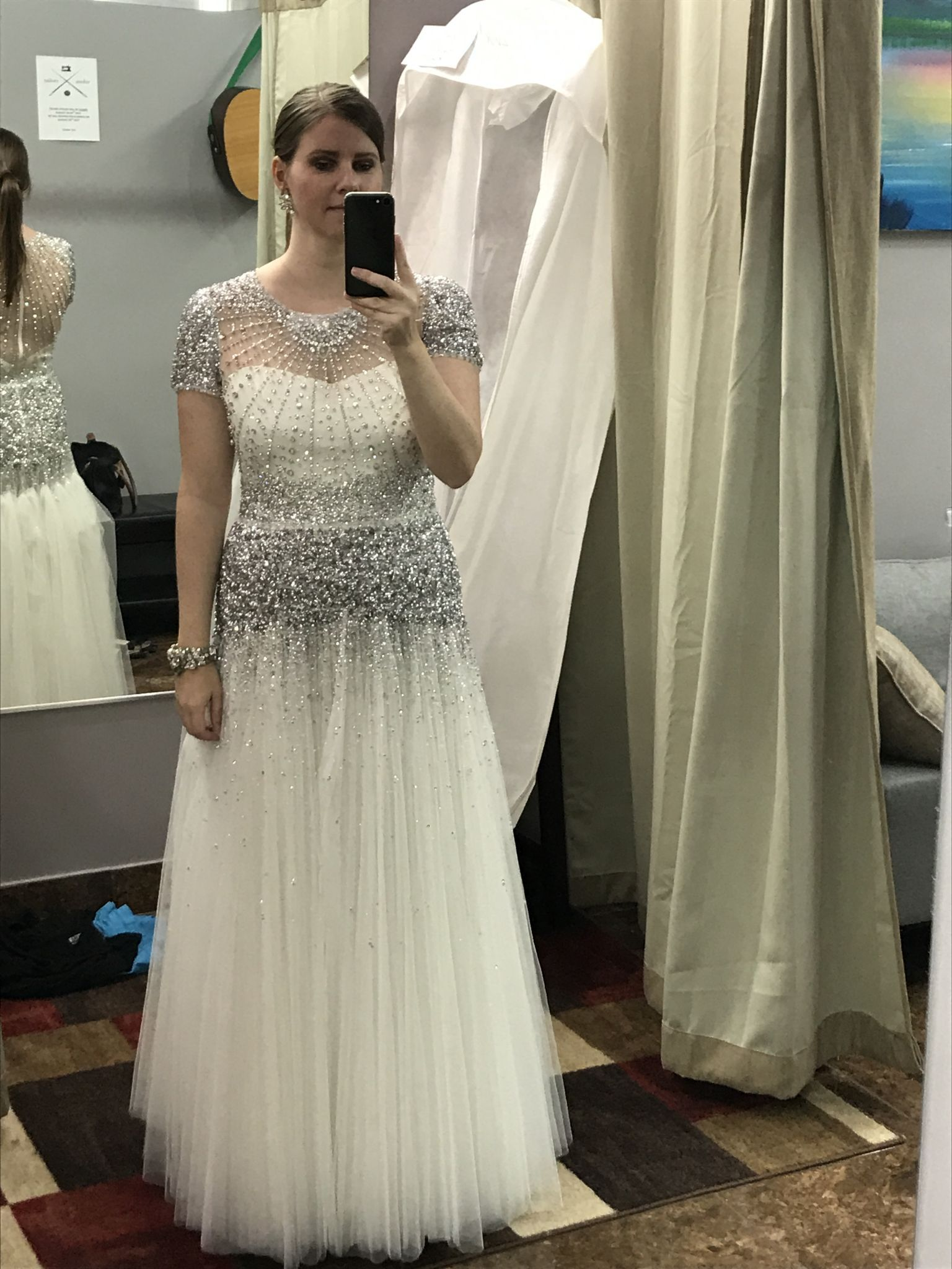 Jenny packham dixie size new altered wedding dresses