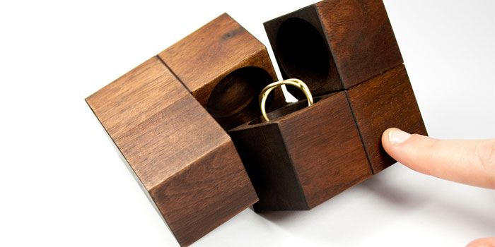Klotz Jewelry Update Wooden puzzle box Box and Woods