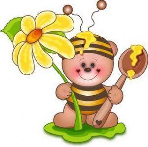 Mom S Favorite Club The Needle Bees Cartoon Clip Art Digi Stamps Cute Clipart