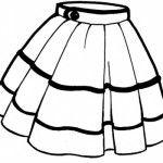 Elbise Boyama Sayfaları Okul öncesi Etkinlik Giysilerimiz