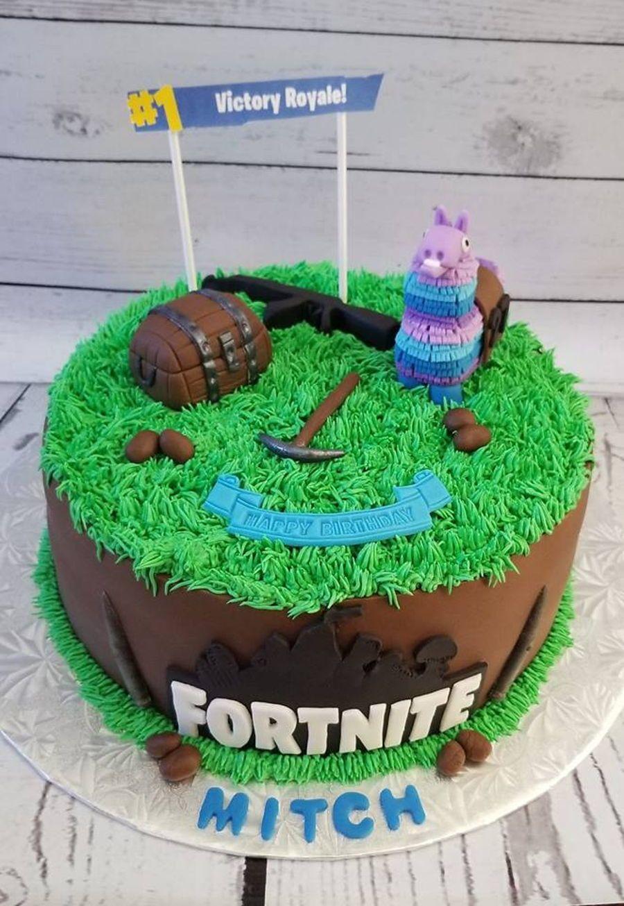 Fortnite Cake All things fortnite. Birthday cake kids