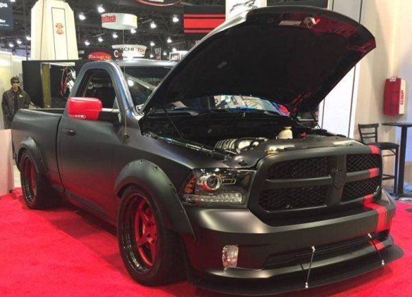 The 775hp Hellfire at SEMA is the Hellcat Ram 1500 We All Want