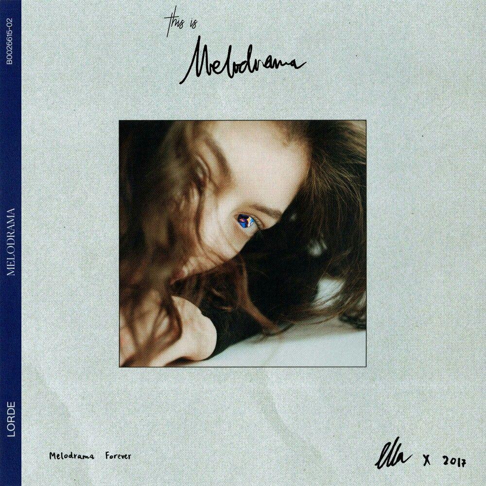 Pin by computadora on portadas | Lorde, Melodrama, Vintage ...
