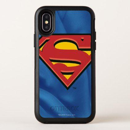 Superman S Shield Logo Otterbox Symmetry Iphone X Case
